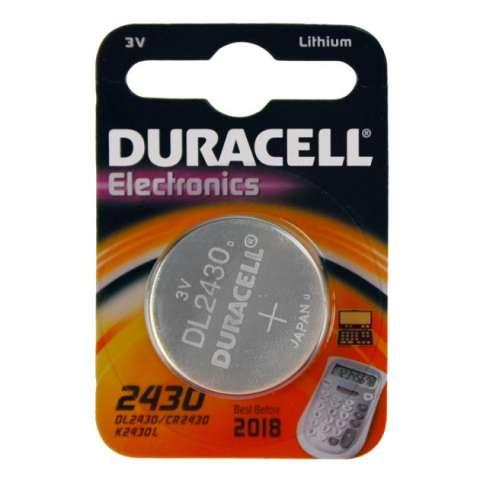 DURACELL DL2430 / CR2430 knapcelle (1 stk.)