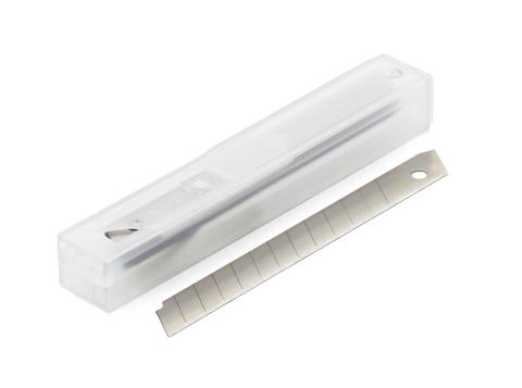 Hobbyknivblade / Cutterblade Små 10-Pak 10 mm Til 632003/632014